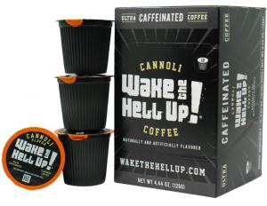 Utica Coffee Wake The Hell Up Cannoli Coffee K-Cups