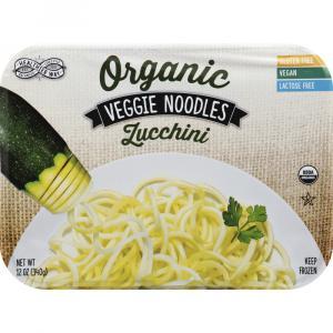 Healthier Way Organic Veggie Noodles Zucchini