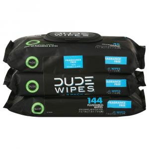 Dude Wipes Unscented