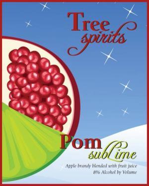 Tree Spirits Pomegranate Sublime Apple Brandy