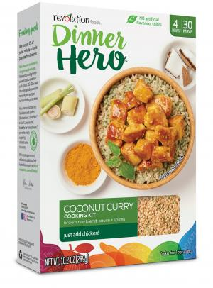Dinner Hero Coconut Curry Cooking Kit