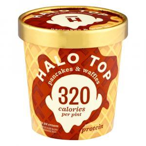Halo Top Pancakes & Waffles Light Ice Cream