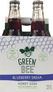 Green Bee Blueberry Dream Honey Soda