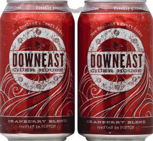 Downeast Unfiltered Craft Cider Cranberry