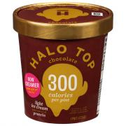 Halo Top Chocolate Light Ice Cream