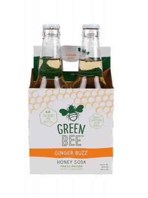 Green Bee Ginger Buzz Honey Soda