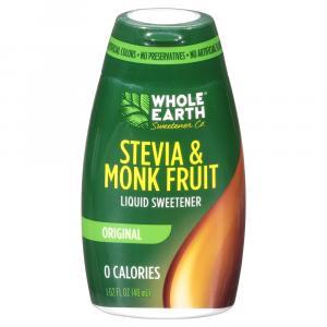 Whole Earth Liquid Monk Fruit Sweetener