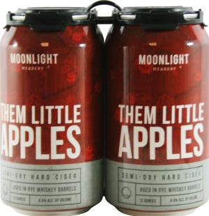 Hidden Moon Brewing Little Apples Hard Apple Cider