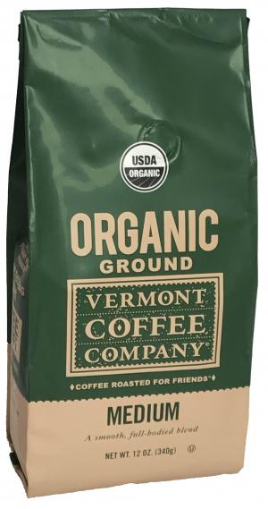 Vermont Coffee Company Organic Medium Ground