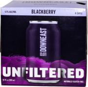 Downeast Unfiltered Craft Cider Blackberry