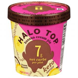 Halo Top Banana Cream Pie Keto Series Ice Cream