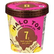 Halo Top Banana Cream Pie Keto Series Ice Cream