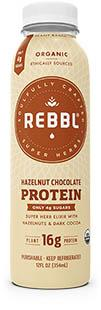 Rebbl Organic Protein Drink Hazelnut & Cocoa