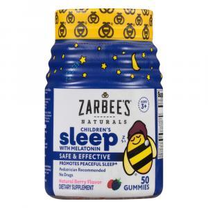 Zarabee's Natural Children's Sleep Gummy Mixed Fruit
