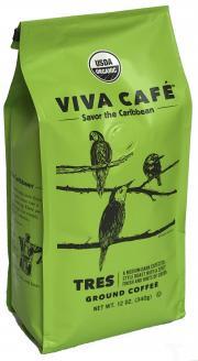 Viva Cafe Organic Tres Ground Coffee