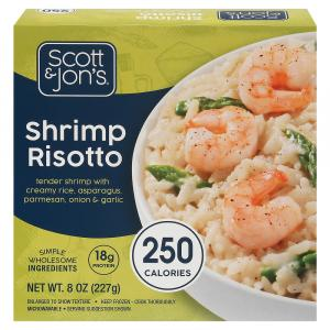 Cheating Gourmet Shrimp Risotto Bowl
