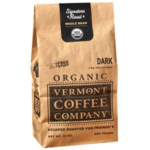 Vermont Coffee Company Organic Dark Roast Coffee