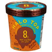 Halo Top Peanut Butter Chocolate Keto Series Ice Cream