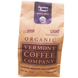 Vermont Coffee Company Whole Bean Organic Light Roast