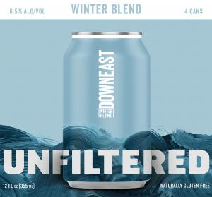 Downeast Unfiltered Craft Cider Seasonal Hopped Grapefruit