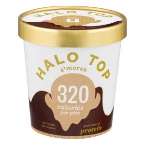 Halo Top S'Mores Light Ice Cream