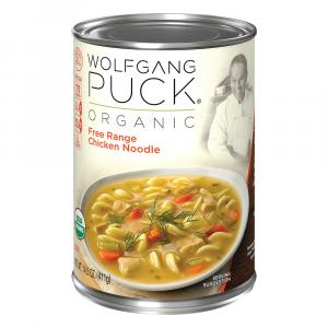 Wolfgang Puck's Organic Chicken Egg Noodle Soup