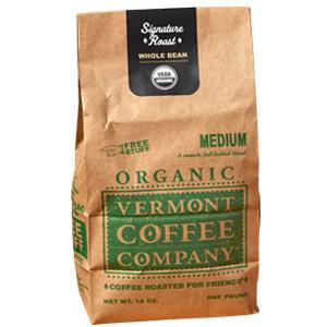 Vermont Coffee Company Organic Medium Roast Coffee