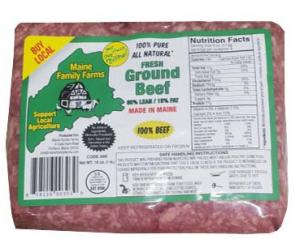 Maine Family Farms All Natural Ground Beef 85/15