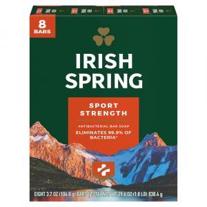 Irish Spring Antibacterial Sport Strength Deodorant Soap