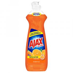 Ajax Ultra Orange Triple Action Liquid Dish Soap