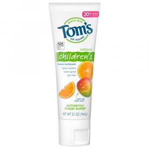 Tom's Children's Outrageous Orange Mango Toothpaste