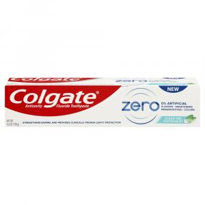 Colgate Zero Clear Gel Peppermint Toothpaste