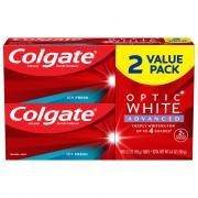 Colgate Optic White Advanced Toothpaste Icy Fresh