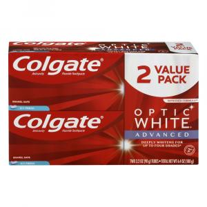 Colgate Optic White Advanced Toothpaste Icy Fresh