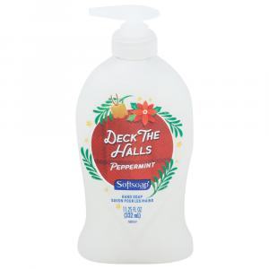 Soft Soap Deck the Halls Peppermint Hand Soap