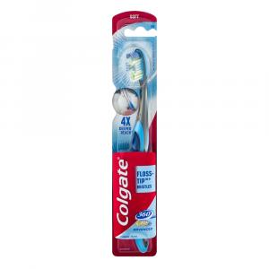 Colgate 360 Total Advanced Floss-Tip Soft Toothbrush