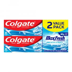 Colgate Max Fresh with Whitening Fluoride Toothpaste