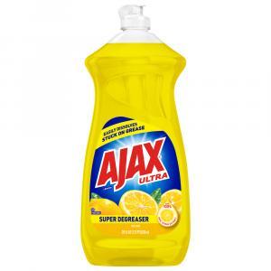 Ajax Super Degreaser Lemon Liquid Dish Detergent