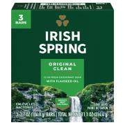 Irish Spring Original Bath Size Bar Soap