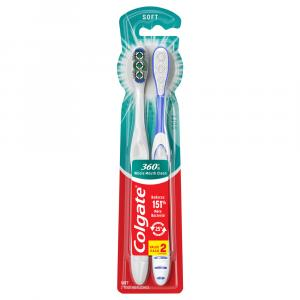 Colgate 360-Degree Soft Toothbrushes