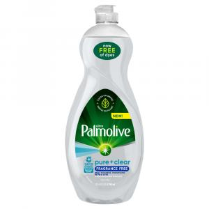 Palmolive Pure + Clear Fragrance Free Dish Liquid