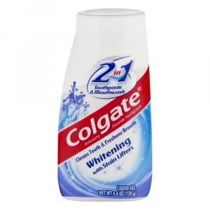 Colgate 2in1 Cool Mint Whitening Liquid Gel