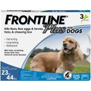 Frontline Plus Doses for Dogs 23 to 44 Lbs.
