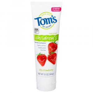 Tom's Children's Silly Strawberry Paste