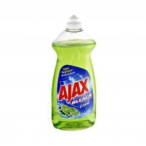 Ajax With Bleach Lime Liquid Dish Detergent