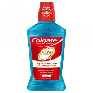 Colgate Total Advanced Mouthwash Peppermint