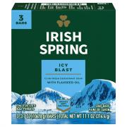 Irish Spring Icy Blast Bath Size Bar Soap