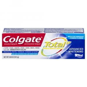 Colgate Total Advanced Whitening Toothpaste Travel Size