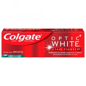 Colgate Optic White Fresh Mint Gel Toothpaste