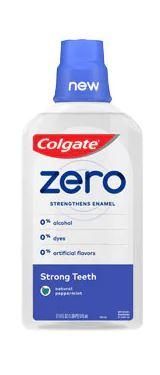 Colgate Zero Strong Teeth Natural Peppermint Mouthwash